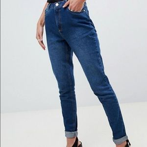 Missguided Riot high rise mom jeans